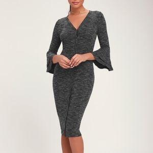 NWOT Midi Dress LULU'S Jony | S